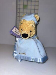 "Gund Sleepytime Pooh Plush Soft Bear With Blanket 9"" Tall"