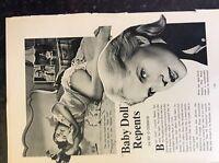 m17b6 ephemera film 1950s article film actress carroll baker baby doll