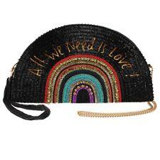 Mary Frances On the Record Beatles Love music Clutch Purse Bead Bag Handbag NEW