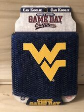 West Virginia Mountaineers Ncaa Can Koolie 12 oz Collapsible Sequin Koozie New