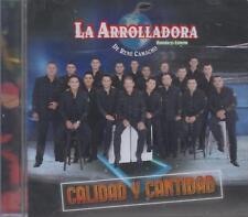 La Arrolladora Banda El Limon De Rene Camacho NEW CD Calidad Y Cantidad !!
