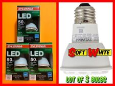 Lot of 3x SYLVANIA LED (50w Replacement Use 6w) PAR20 Large Flood Dimmable Bulbs