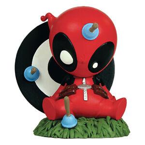 """Marvel Mini Heroes Animated Deadpool 3"""" PVC Statue"""