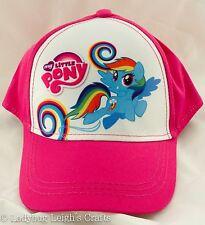 e76d0034d6e NWT Girl s My Little Pony Baseball Cap Hat Rainbow Dash Hasbro