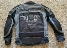 Harley Davidson Men's Skull textile jacket size Medium