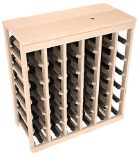 36 Bottle Kitchen Wine Rack Kit in Ponderosa Pine. Hand Crafted in the USA.