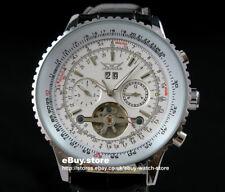 Montre-bracelet militaire automatique Tourbillon militaire des hommes Luxe