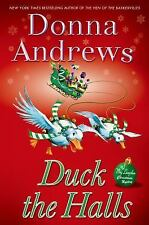 Duck the Halls: Meg Langslow Mysteries by Donna Andrews - HARDCOVER - BRAND NEW!