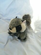 Folkmanis Finger Puppet Racoon Plush Toy Stuffed Animal