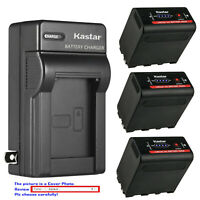 Kastar F980 Battery Wall Charger for Atomos NP-F970 F960 Atomos Shogun Battery