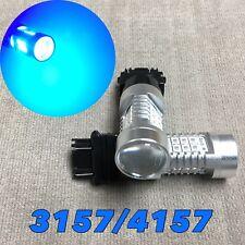 Rear Turn Signal Parking Light BLUE CANBUS LED Bulb 3057 3157 4157 SRCK W1 AK