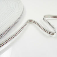 WIRED 7mm FLEXIBLE WHITE BONING DRESSMAKING SINGLE & DOUBLE WIRE CORSET SEWING