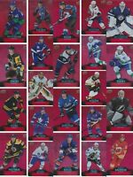 🔥 2020-21 TIM HORTONS RED DIE CUT UD FINISH YOUR SET you PICK Choose HOCKEY  🔥