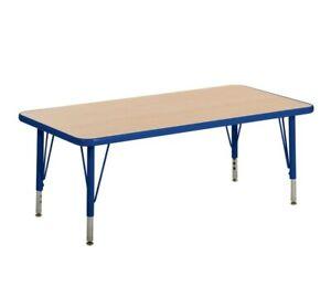 Kaplan L71020-pb Table Legs Replacement Set Metal Blue Adjustable