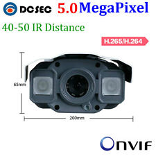 5MP Outdoor IP Camera H.265 Bullet IP67 50M POE P2P Android Iphone Mobile View