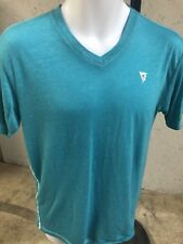 Men's Short Sleeve V-Neck Blue T Shirt Size Small From Buckle