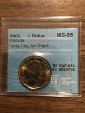 2005 Canada Dollar Terry Fox No Grass CCCS MS-65