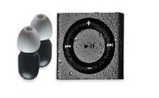 Swim iPod Shuffle MP3 & Buds 100% Waterproof Underwater Space Grey Bundle +BONUS