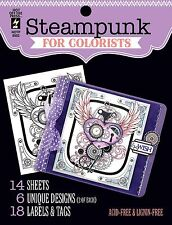 STEAMPUNK For COLORISTS Card Making & Paper Crafting HOT OFF THE PRESS 8502 New