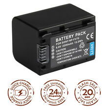 Battery For SONY NP-FV50 FV70 FV100 NP-FH30 FH50 FH60 NP-FP50 DCR-SX85 US LOCAL