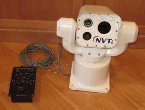 NVTi 3100HD Marine Day/Night Vision + IR/Thermal Camera Unit - Read Desc!