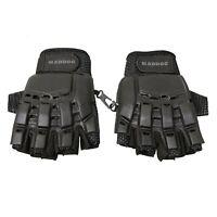 Maddog® Half-Finger Gloves - Black - Large / X-Large