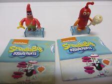 2 SpongeBob Squarepants Mega Bloks Blind Bag Figures Series 3 Jellyfish Patrick