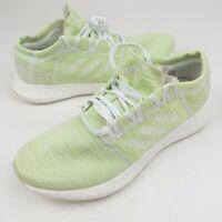 Adidas Pureboost Go LTD Men's 9 Green Running Shoes New