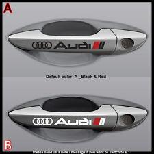 A Pair of  SMALL Audi TT A8 R8 A6 A5 A4 Q7 Q5 Q3 handle vinyl Decal Sticker