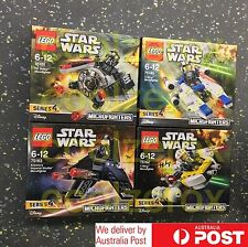 *RARE* Lego STARWARS Micro fighter Series 4 COMPLETE - NEW