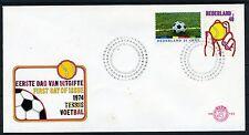NEDERLAND E132 FDC 1974 - Sportzegels