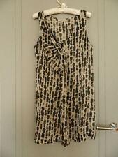 Veronika Maine Linen/Silk Tunic Size 14