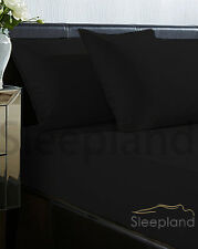 """Thermal Flannelette 100% Brushed Cotton Fitted Bed Sheets Heavy Extra Deep 12"""""""