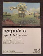 Mojave 3 Spoon Rafter Postcard RARE 2003 Slowdive Halstead