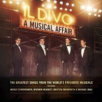 IL DIVO - A MUSICAL AFFAIR  CD + DVD  INTERNATIONAL POP  NEW+