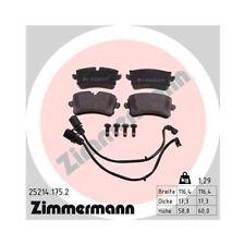 Bremsbelagsatz, Scheibenbremse ZIMMERMANN 25214.175.2 für AUDI PORSCHE VAG