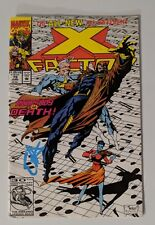 Evan Peters Signed X-factor #79 comic book Quicksilver