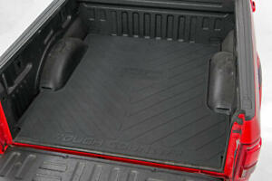 Rough Country Rubber Bed Mat (fits) 2003-2018 Dodge Ram   6.4 FT Bed Liner