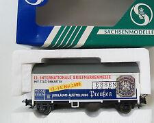 Güterwagen Briefmarkenmesse 2000 Sachsenmodelle 18803 Spur H0  OVP