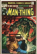 Man-Thing 1974 series # 4 fine comic book