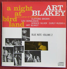 ART BLAKEY    CD A NIGHT AT BIRDLAND VOLUME 2 BLUE NOTE
