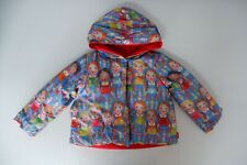 Oilily Reversible Red Coat Jacket Age 2 Years Size 92 VGC