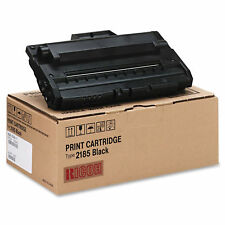 Ricoh 412660 Type 2185 Black Toner Cartridge AC205, AC205L GENUINE RICOH 2185