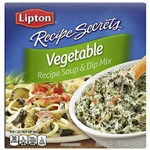 Lipton Recipe Secrets Soup and Dip Mix, Vegetable