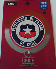 PANINI ADRENALYN XL FIFA 365 2017 TEAM LOGO CHILE 338
