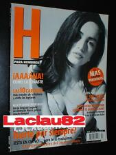 Ana De La Reguera #34 Revista H Para Hombres Mexican Complete Your Collection