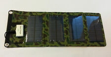 5V 7W Portable Folding Solar Panel  Charger USB Output  iSolar  Controller