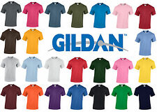 New Plain Blank Gildan G5000 100% Heavy Cotton T-shirt 24 Colours!!