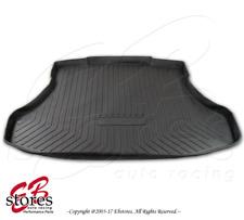Black Cargo Liner Tray Trunk Floor Mat Custom Fit for Honda Civic 4 Door 2012-15