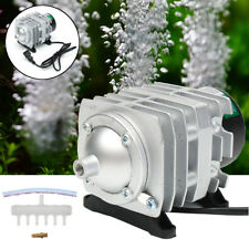 45L/min 25W Electromagnetic Air Compressor Aquarium Oxygen Pond Air Pump Aerator